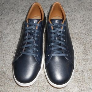 NEW Cole Haan men's blue leather sneakers 9.5